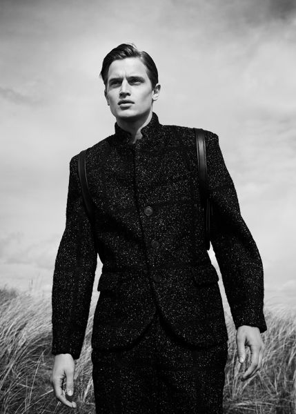 EVAN Menswear featured on model Nick Lagerburg